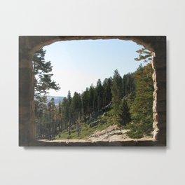 Nature Postcard Metal Print