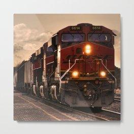 Flagstaff Freight  Metal Print