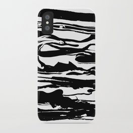 drops of black iPhone Case