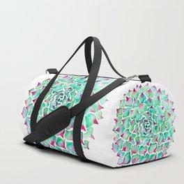 Echeveria Succulent Duffle Bag