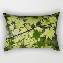 maple dragonflies Rectangular Pillow
