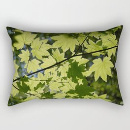 maple dragonflies Rectangular Pillow