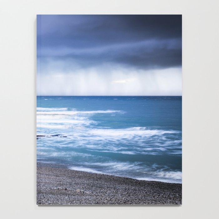 Rain at Sea Notebook