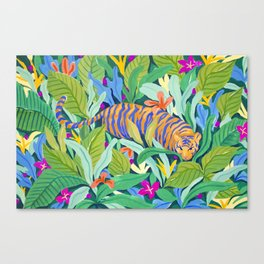 Colorful Jungle Canvas Print