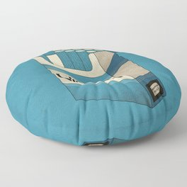 Pack of Blues Floor Pillow