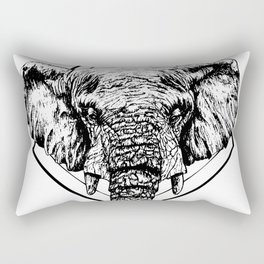 Diamond Elephant Rectangular Pillow