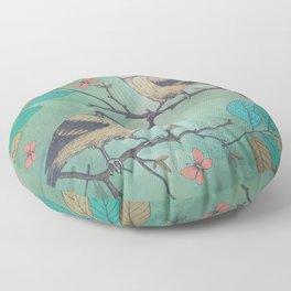 Birds of a Feather Floor Pillow