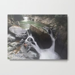 """May what I do flow from me like a river, no forcing and no holding back..."" Metal Print"