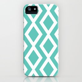 Aqua Diamond iPhone Case