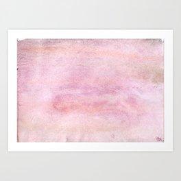 Gentle pink Art Print