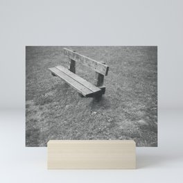 Park Bench Mini Art Print