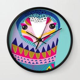 Mr Owl Wall Clock