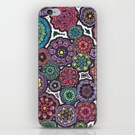 Psychedelic Flowers iPhone Skin