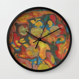 There's Order in Chaos: Marbleizing Wall Clock