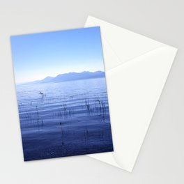 Tahoe silence Stationery Cards