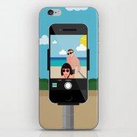 selfie iPhone & iPod Skins featuring Selfie? by Chiara Belmonte