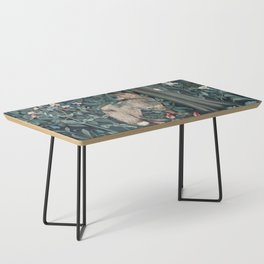 William Morris Forest Fox Tapestry Coffee Table
