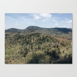 Devil's Courthouse // The Reckoning Canvas Print