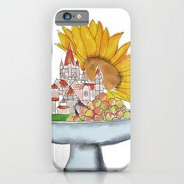 Vienna, Fruit Bowl, Sunflower iPhone Case