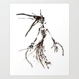 Shackled Wraith Art Print