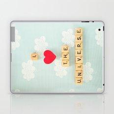 I Heart The Universe Laptop & iPad Skin