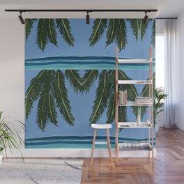 Silence #beach #art #summer Wall Mural