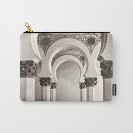 The Historic Arches in the Synagogue of Santa María la Blanca, Toledo Spain Carry-All Pouch