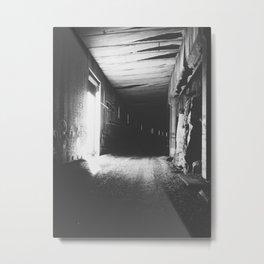 Light Division Metal Print