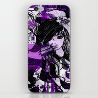 police iPhone & iPod Skins featuring POLICE WOMEN by Chandelina