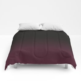 Faded Burgundy Comforters