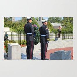 9 11 Memorial Service Rug