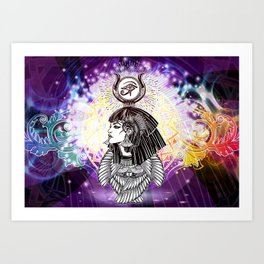 Goddess Isis and the Reigning Light Art Print