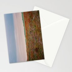 View from cliffs above Rhossili Bay, Wales Stationery Cards