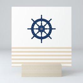 AFE Nautical Wheel 2019 -2 Mini Art Print