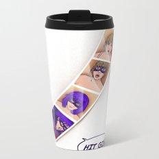 Speed Girl Metal Travel Mug