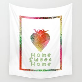 Home Sweetest Home -Typography Wall Tapestry