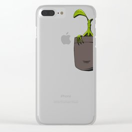 Pickett in Pocket Clear iPhone Case