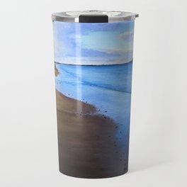Last Light, Uretiti Beach Travel Mug