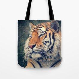 Tiger No 3 Tote Bag