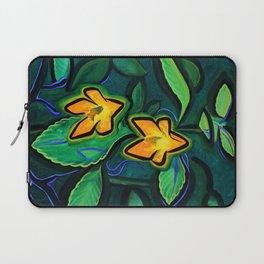 Orange Jewelweed 2.0 Laptop Sleeve