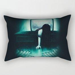 She Never Sleeps Rectangular Pillow