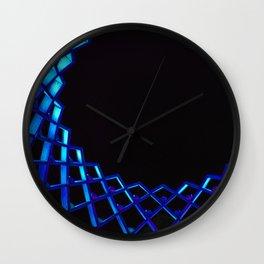 Glowing Neon Flower Wall Clock