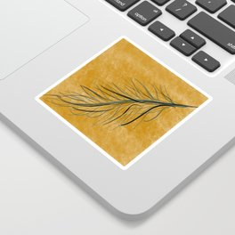 Fall feather Sticker