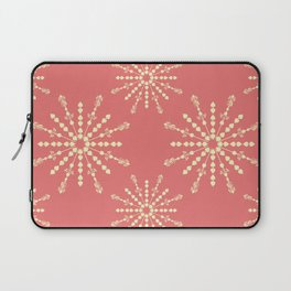 Coral Stars Laptop Sleeve