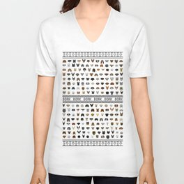 Pixel Pups Unisex V-Neck