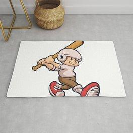 cartoon boy playing Rug