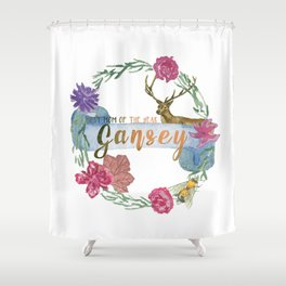 """""""Gansey - Best Mom of The Year"""" The Raven Cycle Inspired Shower Curtain"""