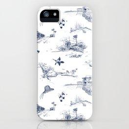 Vero Toile  iPhone Case