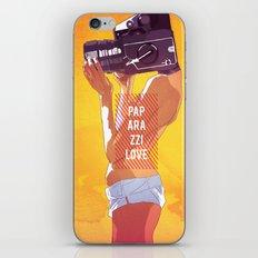 Paparazzi Love iPhone & iPod Skin