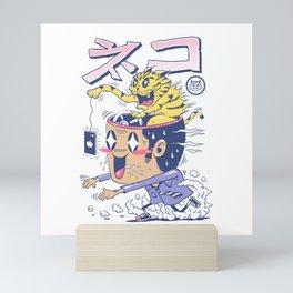 Cat Rod Mini Art Print